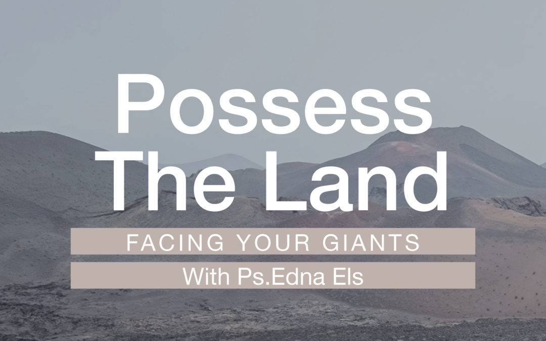 Possess the Land: Facing Your Giants